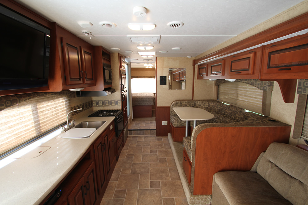 Louisiana RV Rental - Living Room