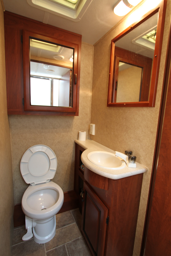 Louisiana RV Rental - Bathroom